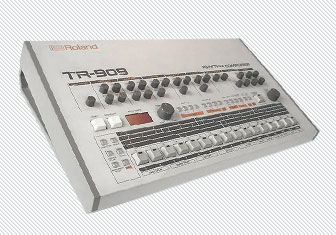 Roland Tr909 in Free Drum Samples - Roland TR-909